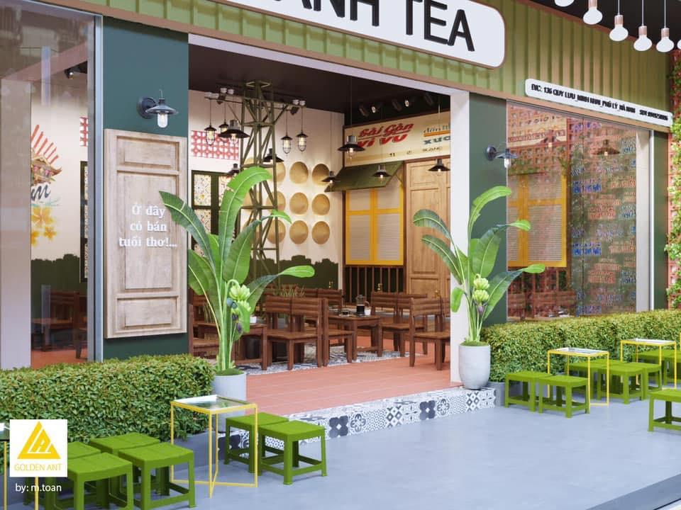 Hồ Sơ Setup Quán Chảnh Tea –  Phủ Lý, Hà Nam