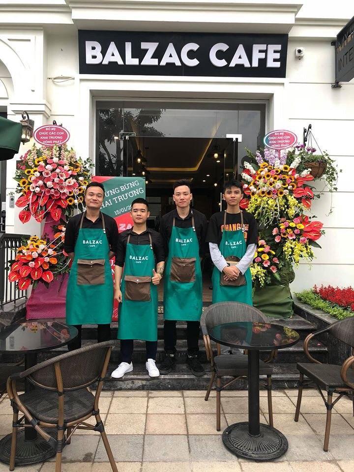 Hồ Sơ Setup Quán Balzac Café Vinhomes Greenbay Hà Nội