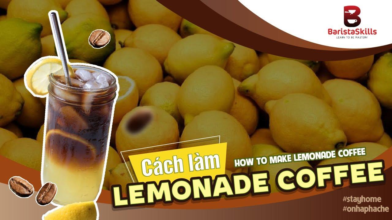 Cà phê chanh – thức uống mới lạ nhất định phải thử!
