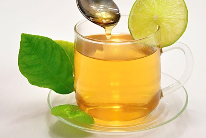 Trà chanh mật ong từ lá trà tươi