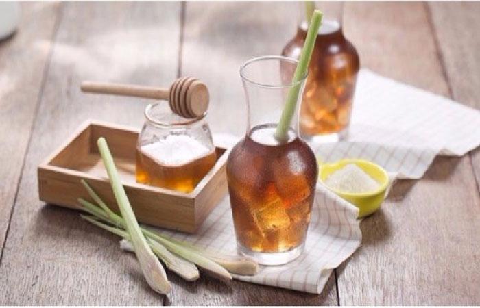 hướng dẫn cách làm trà sả mật ong