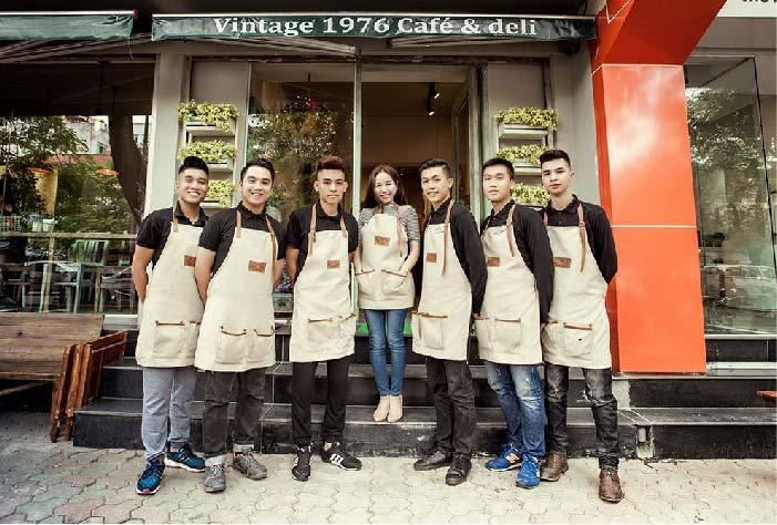 Đào tạo nhân viên cho quán cafe