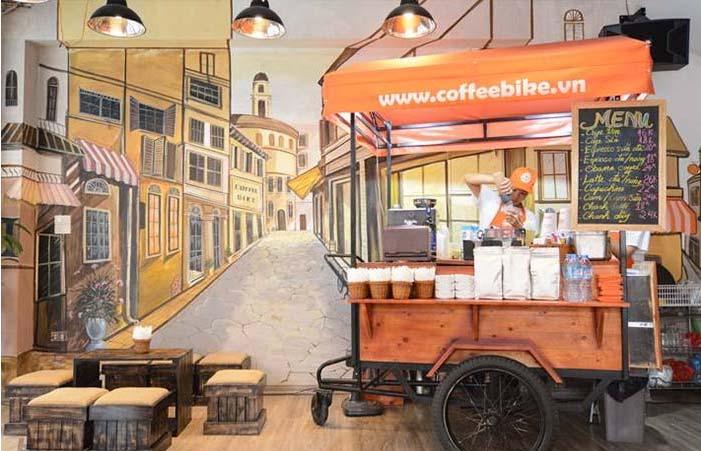 Cafe xe đẩy
