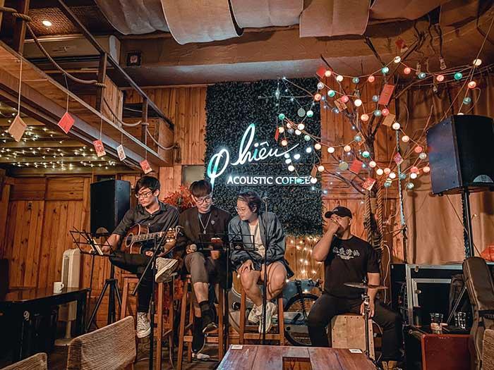 cafe ca nhạc
