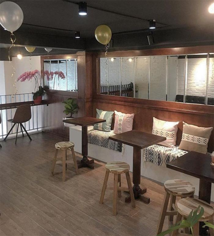 nội thất Nhà cafe